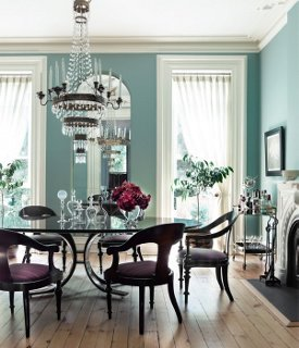 Dining Room Ceiling Paint Ideas Part - 41: Photography By Eric Piasecki/OTTO
