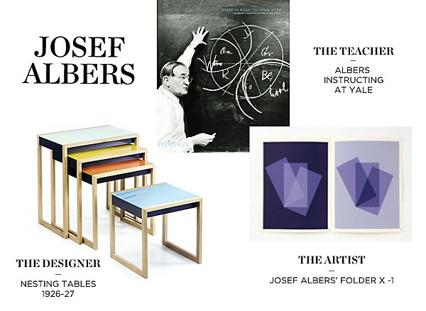 We love josef albers one kings lane our style blog for Bauhaus arredamento