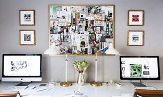 Stylish Organization Tricks For A More Inspiring Work Space