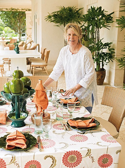 "Legendary designer Bunny Williams, a consummate hostess, built her vacation home in Punta Cana with the intention of inviting friends to visit and stay each winter. ""If ever there was a place built for entertaining, it is La Colina,"" writes Bunny in her book A House by the Sea."