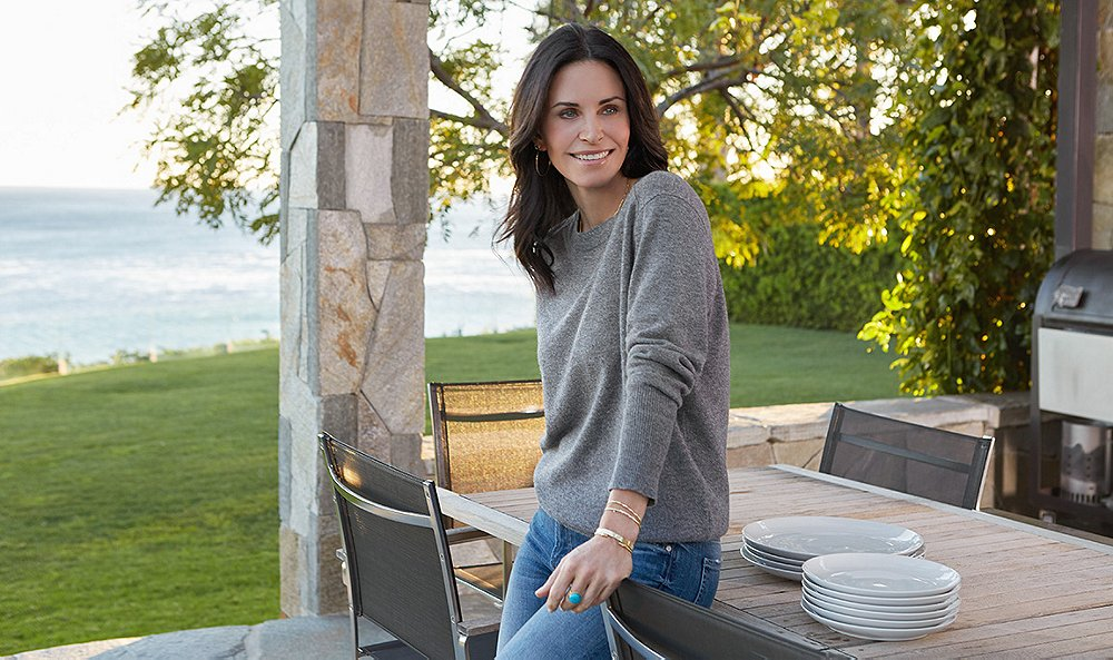 Courteney Cox Talks Interior Design and Her Exciting New Chapter