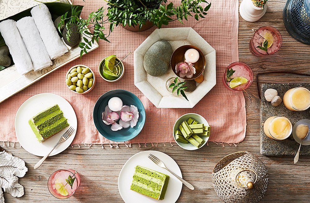 How to Host: A Calm and Chic Spa Party at Home