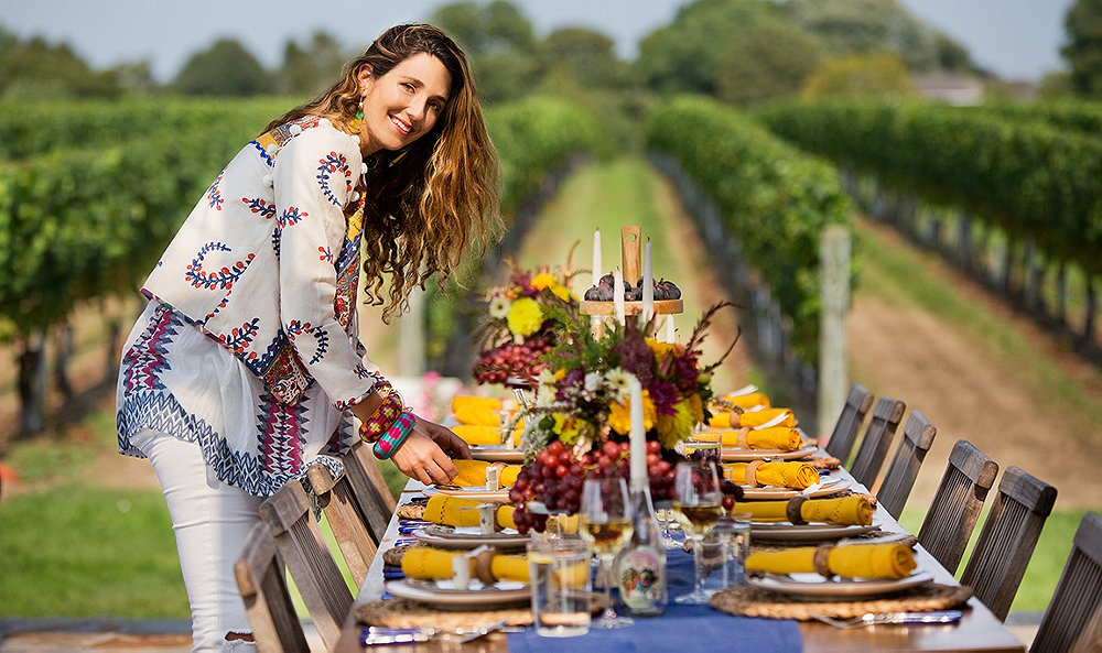 Inside a Hamptons Stylesetter's Gorgeous Fall Dinner Party