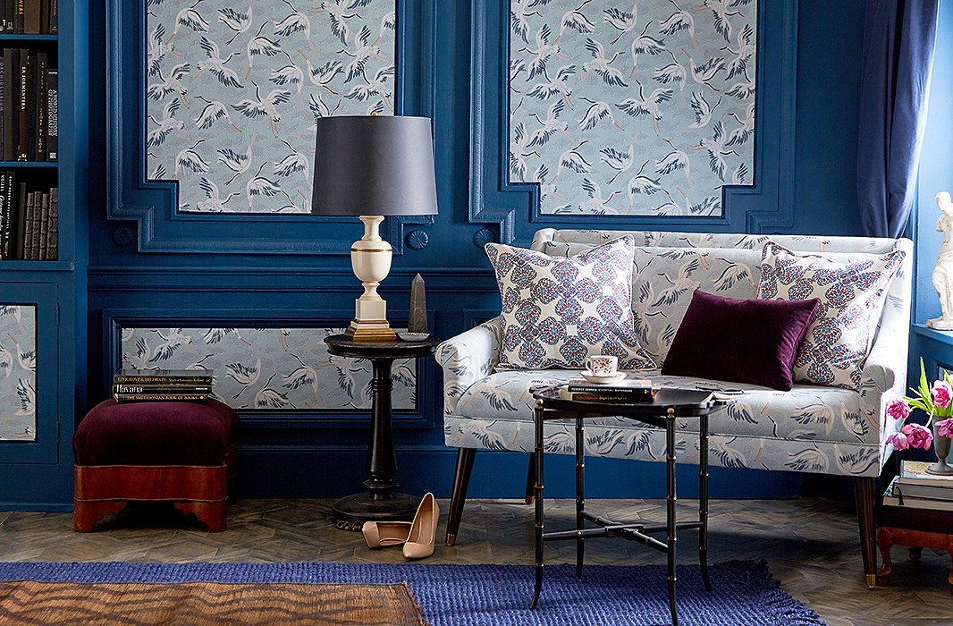 Decorating with patterns chic ways to use a classic motif - Ways decorating using kilim print ...