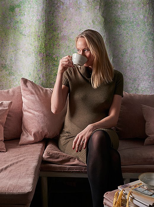 Now eight months pregnant and still chasing after a toddler, Ihave come to rely on the soft buzz of a good tea to keep going—and love that it's not harsh and there are no jittery aftereffects.