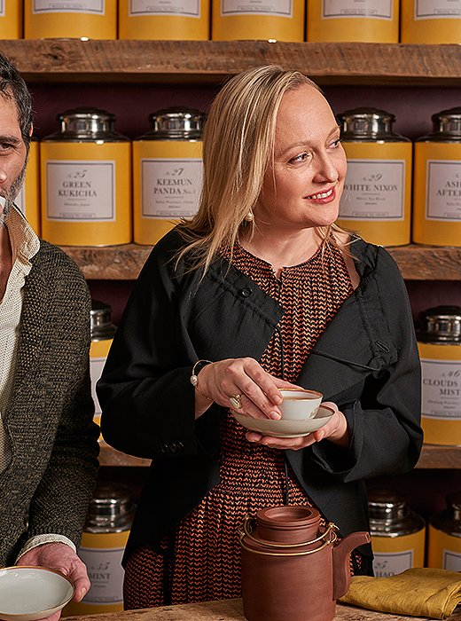 """Heidi often describes teas as an oenophile might describe particularly evocative wines—one might have """"a very light, high, dreamy energy,"""" while another could be """"toasty, with wildflower honey running through it."""""""