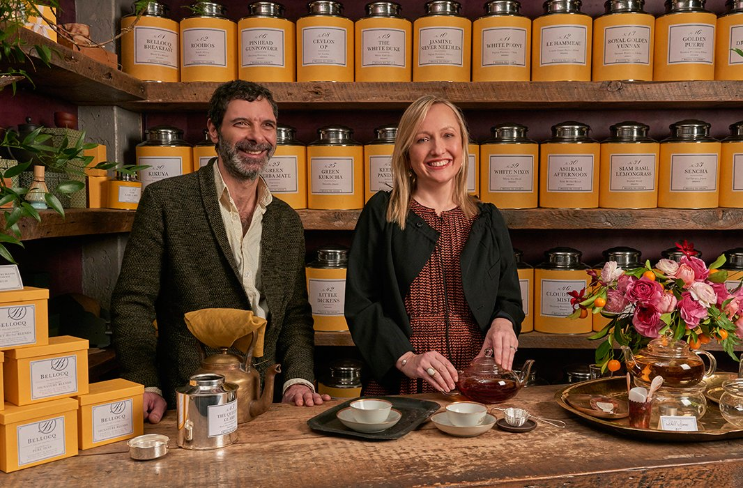 Michael and Heidi say the steeping process quickly becomes second nature and takes just a strainer, a tea kettle, and a few minutes of focus.