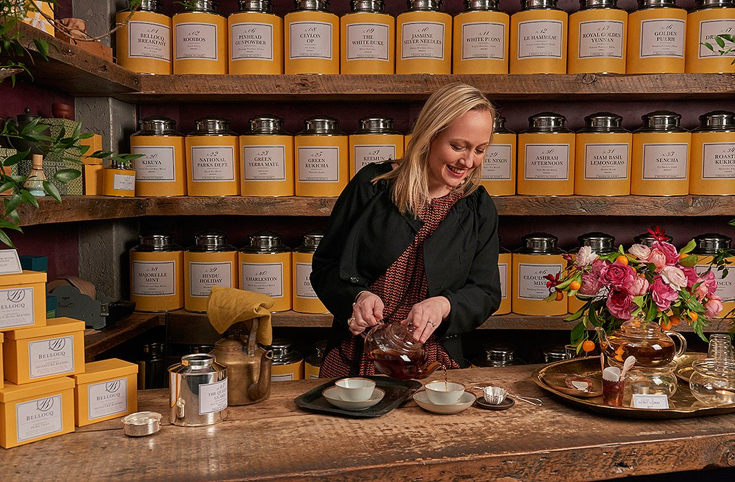 Juggling raising two children with running a company, Heidi focuses less on the healthbenefits of tea and more on its ability to lend the right lift and alertness throughout the day—without the postcoffee crash.