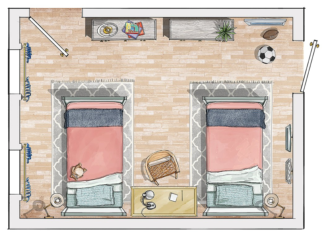 Bedroom ideas design the perfect layout for your retreat - Bedroom layout ideas for rectangular rooms ...