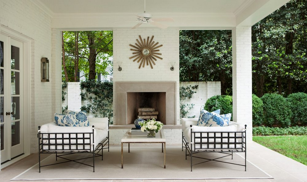 The Most Enchanting Outdoor Spaces From Designers' Homes