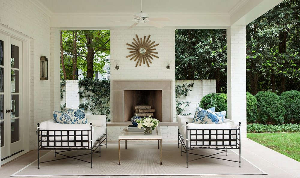 Our Most Enchanting Outdoor Spaces from Designers' Homes
