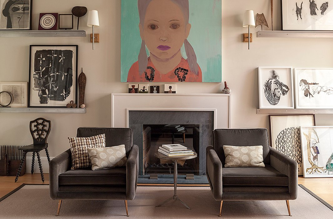 Photo by John Gruen; interior by Weitzman Halpern Interior Design