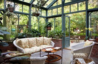 Lush Garden Ideas from the Dreamiest Conservatories