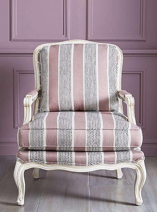 We Pared Down The Ornamentation Of A Clic Louis Xv Chair To Create Our Augusta Bergère