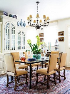 The Louis XIV Chairu0027s Thronelike Stature Lends Drama To The Dining Room.  Try Pairing With