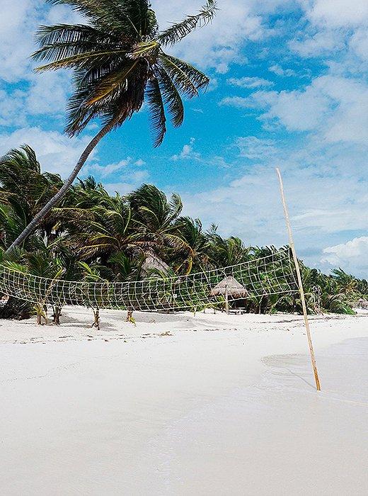 Tulum Coastline by Natalie Obradovich