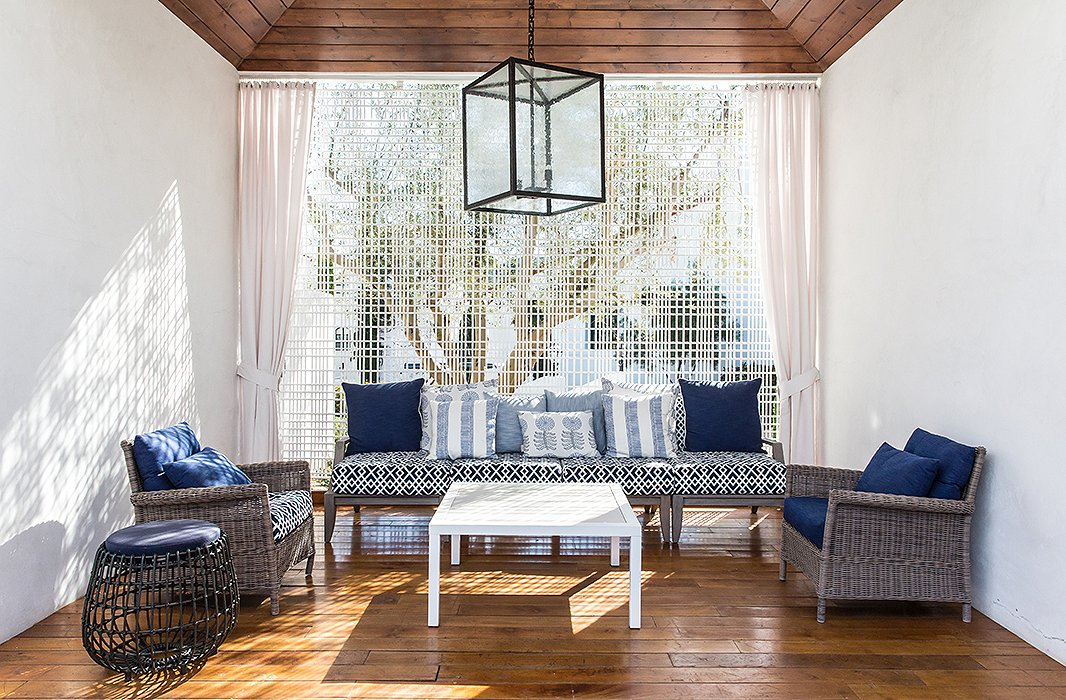 A Moroccan-inspired seating area at the Ojai Valley Inn & Spa.