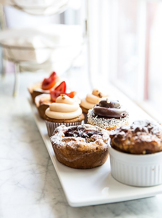 A tray of mouthwatering treats at Knead Baking Co.