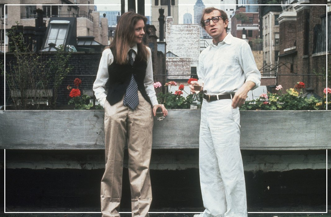 Annie Hall's classic all-American vintage style.