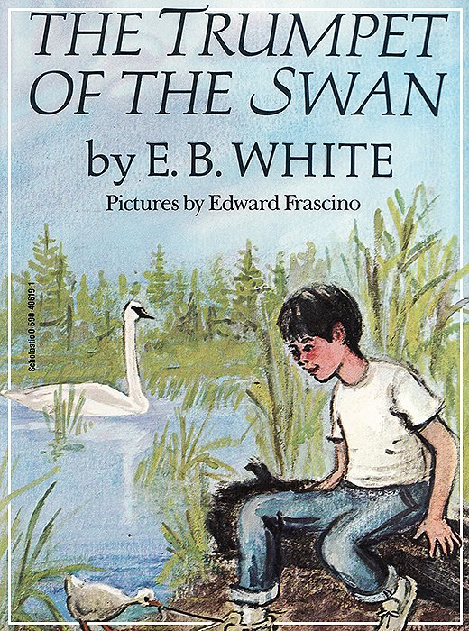 A book by one of Kate's favorite poets, E.B. White.