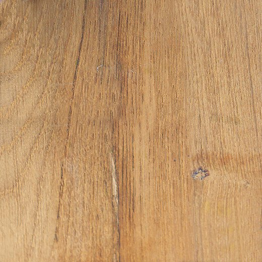 New teak has a natural golden color, which you can preserve with a sealant or a teak-protector solution.