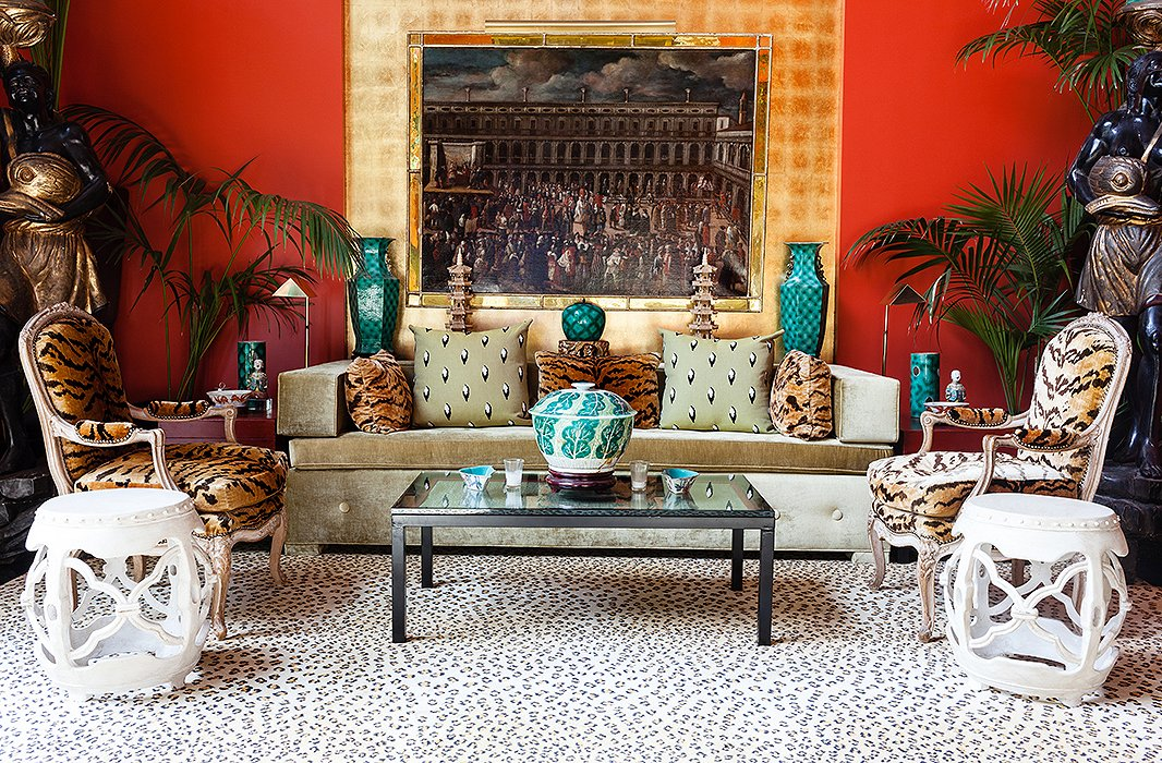 How to decorate with patterned rugs - Decorating with area rugs ...