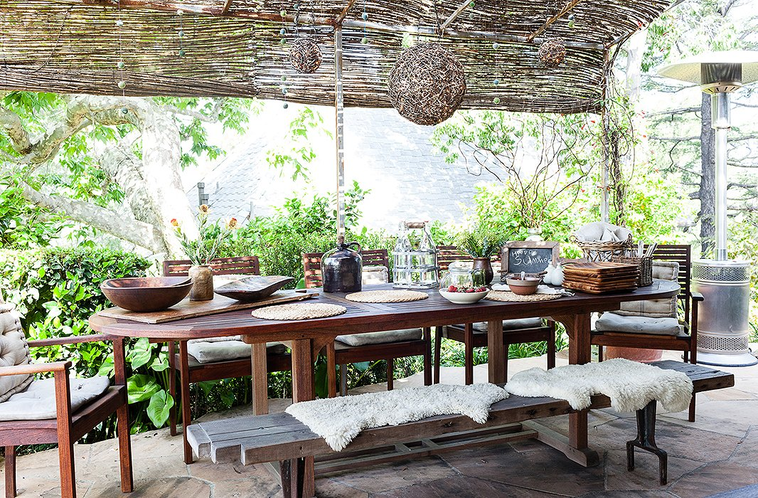 Photo by Nicole LaMotte - The Best Decorating Ideas For Your Outdoor Dining Space