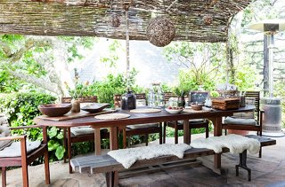 Superior Outdoor Dining Room Ideas Part - 2: Photo By Nicole LaMotte