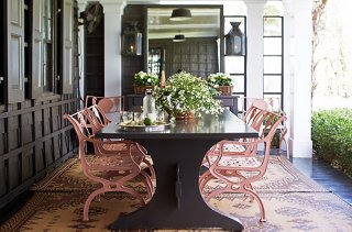 the best decorating ideas for your outdoor dining space rh onekingslane com alfresco dining table settings