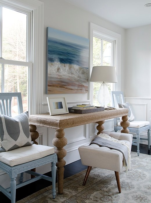 get inspiredrope-wrapped furniture and decor