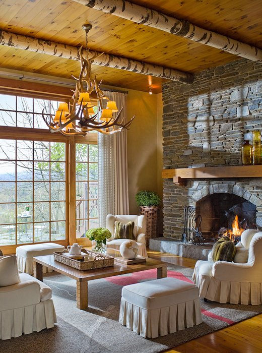 Decorating Ideas From Vermont S Twin Farms Hotel