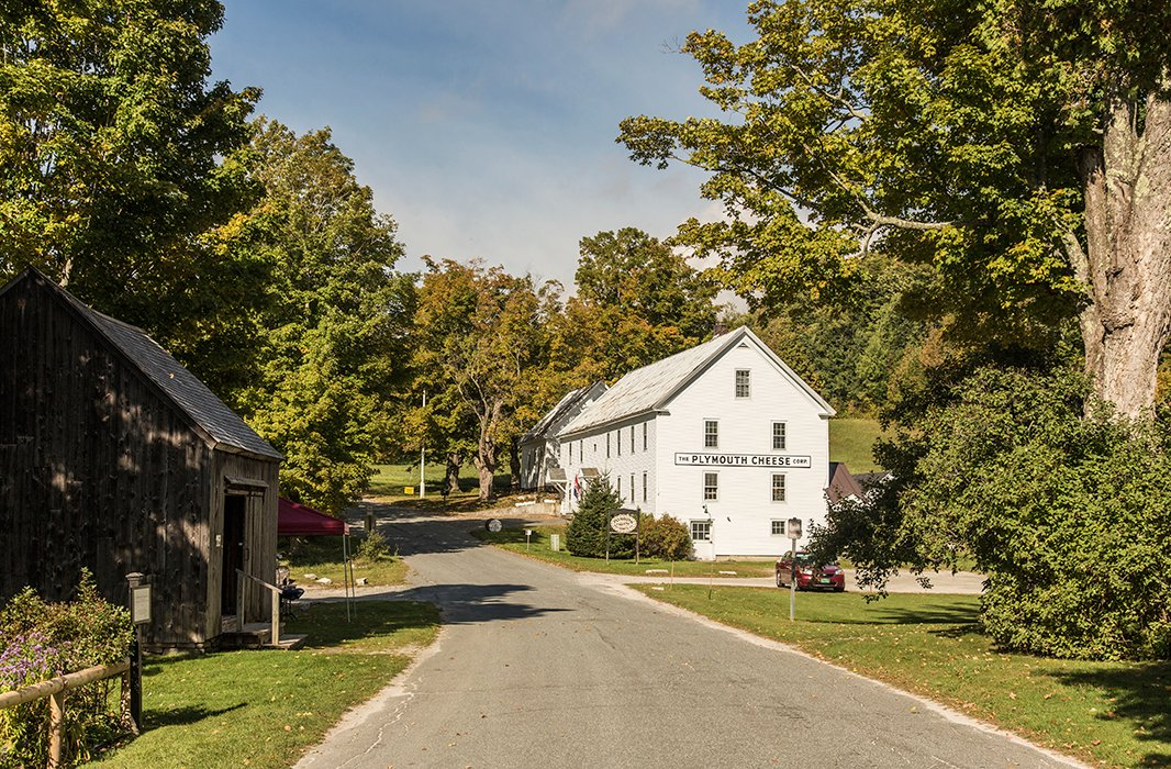 Don't miss the hidden gem that is Plymouth Artisan Cheese in nearby Plymouth Notch. Photo courtesy of Plymouth Artisan Cheese.