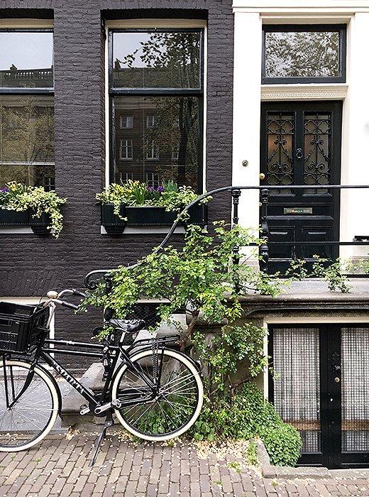 Amsterdam in spring.