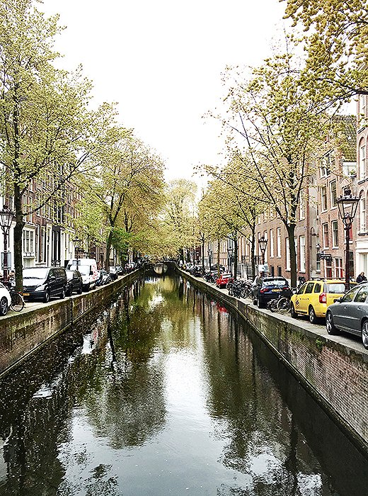 The city's canals are a perfect place for a moment of pause.