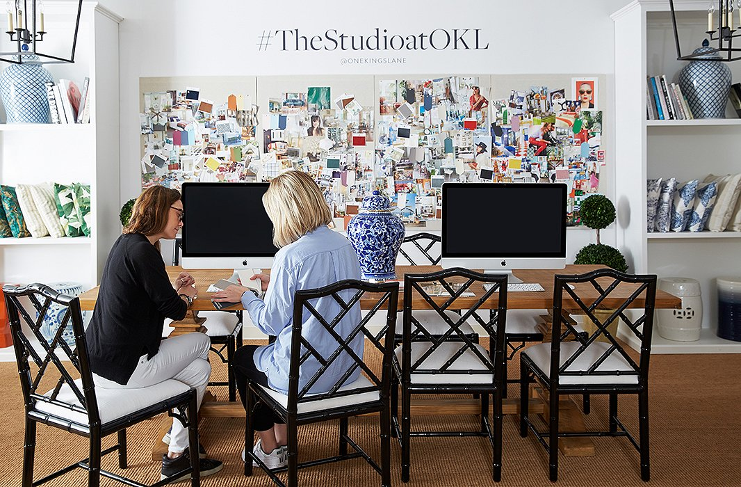 Come visit us at The Studio at One Kings Lane in New York and San Francisco, and check out our Instagram and #TheStudioatOKL for some behind-the-scenes gems!