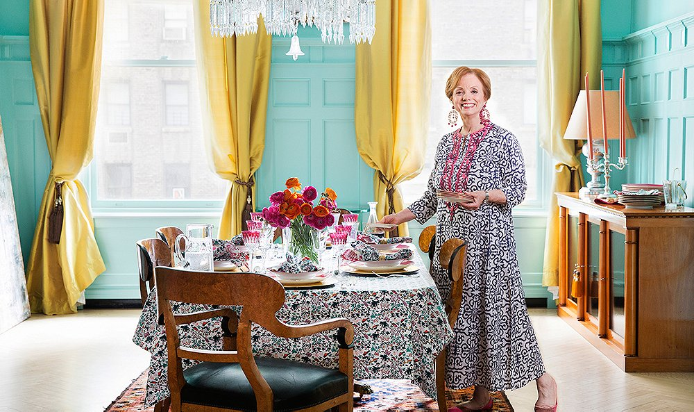 Tour The Colorful Collected Home Of Roller Rabbits Founder