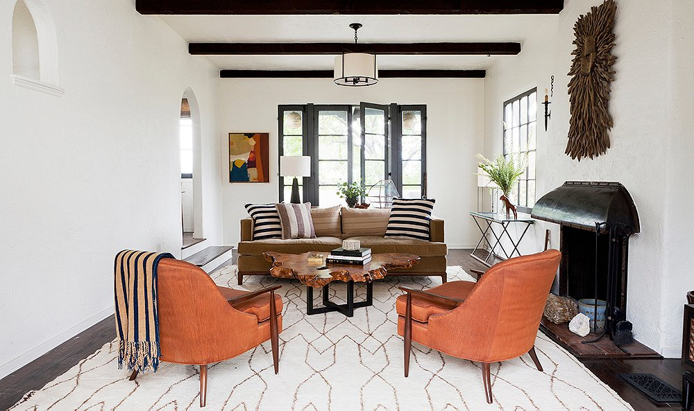 Get inspired by the desert modern decor trend for California contemporary interior design