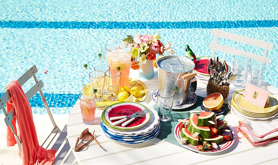 It's unbreakableand unbelievably stylish, and it will last you season after season: We're naming melamine one of our top summer staples. Photo by Mark Weinberg.