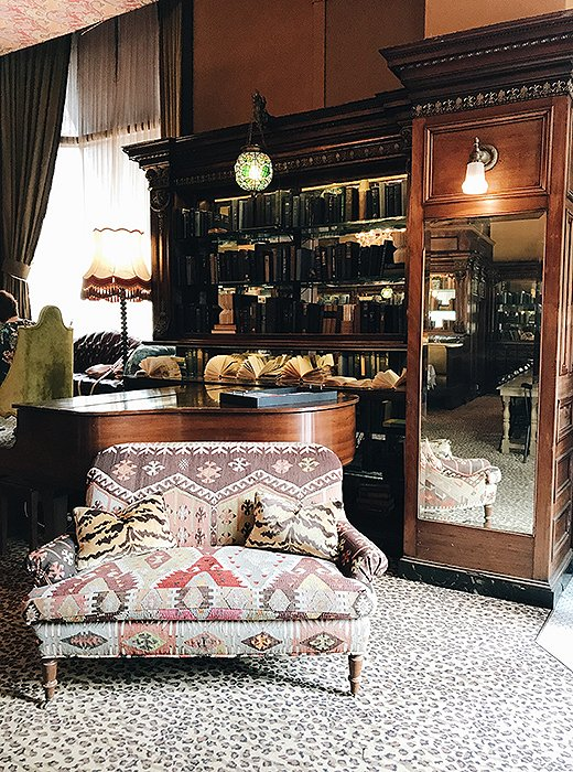 Pop into the Gryphon Tea Room for an afternoon pick-me-up and a dose of Old World charm. Photo by @livelikeitsthewknd.