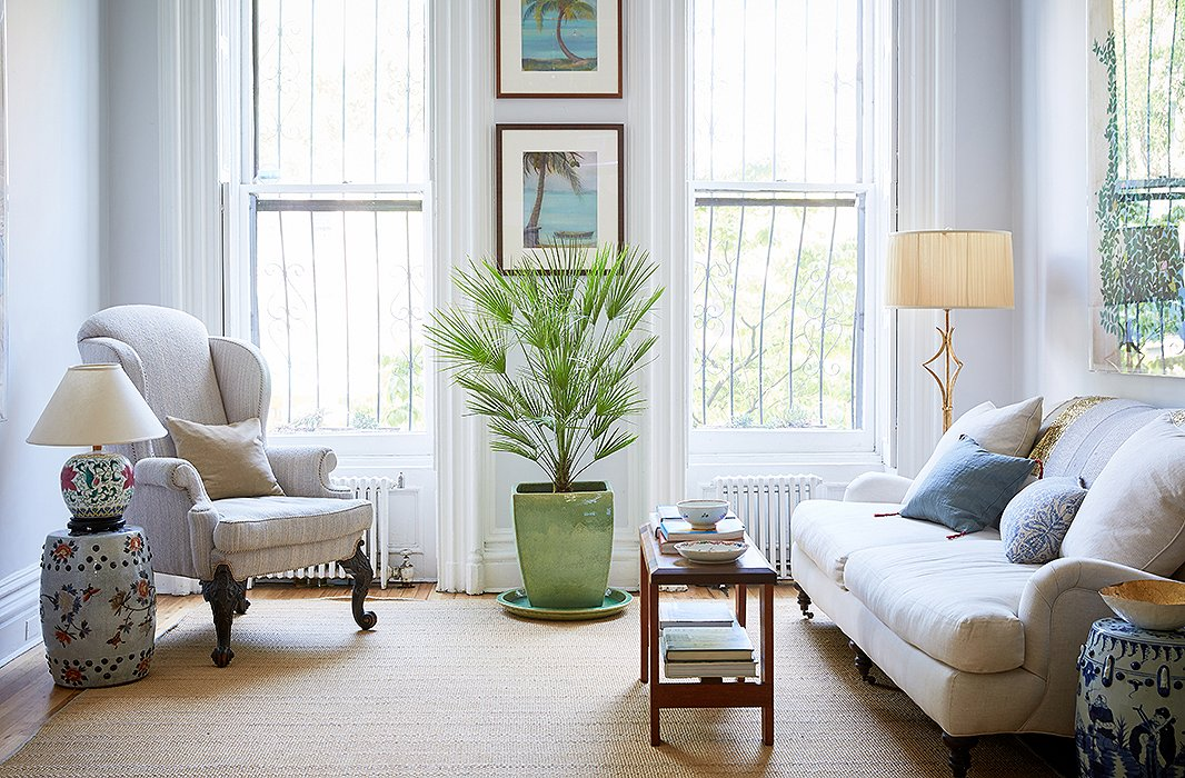 8 refreshing lessons on living with indoor plants for Living room with indoor plants