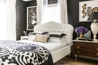 The Master Bedroom Was Inspired By That Of Alison Cayne, Founder Of New York  Cooking