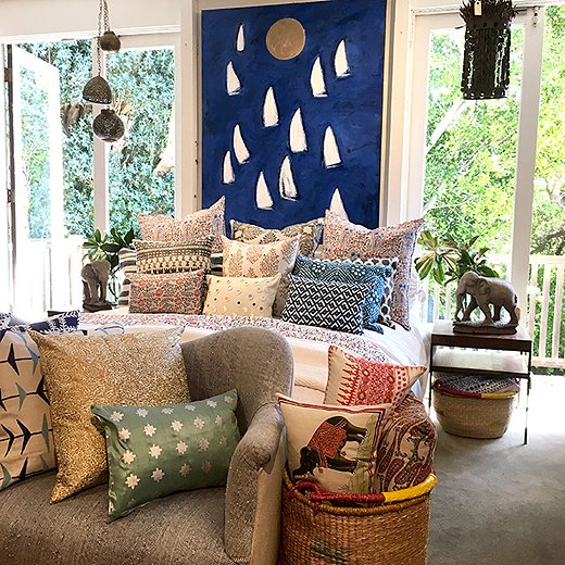 Beautiful, eclectic finds abound at the homeboutique Upstairs at Pierre Lafond, where Kendall picked up a handful of treasuresforher Santa Barbara home. Photo courtesy of Upstairs at Pierre Lafond.