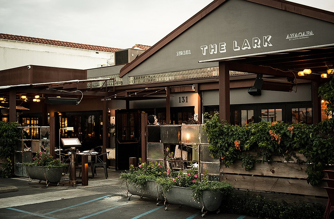 The Lark, the 130-seat restaurant housed in the historic Santa Barbara Fish Market building in the heart of the arts district, is an institution known for its delectable locally sourced and seasonal menu. Photo by Rob Stark Photography.