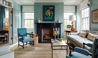 8 top interior designers share their favorite blue paint colors rh onekingslane com interior paint design ideas for small living rooms interior design paint ideas for walls