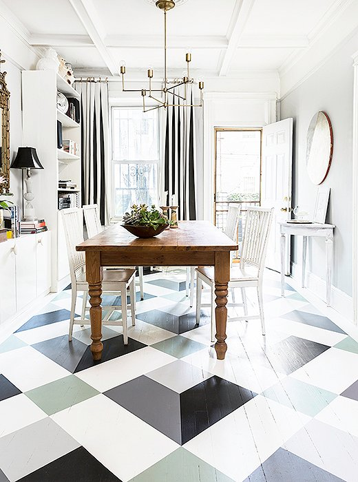 A Fantastic Painted Floor Diy You Can