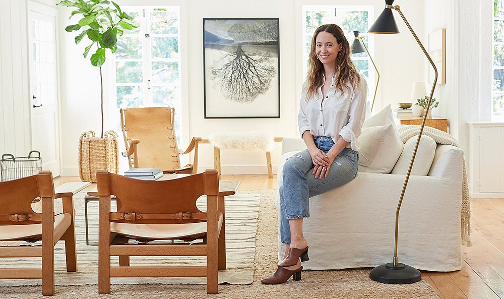 Tour Jenni Kayne's Airy Living Room Makeover