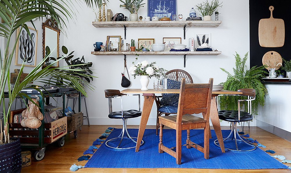 Inside a Tiny Brooklyn Apartment Packed with Vibrant Style