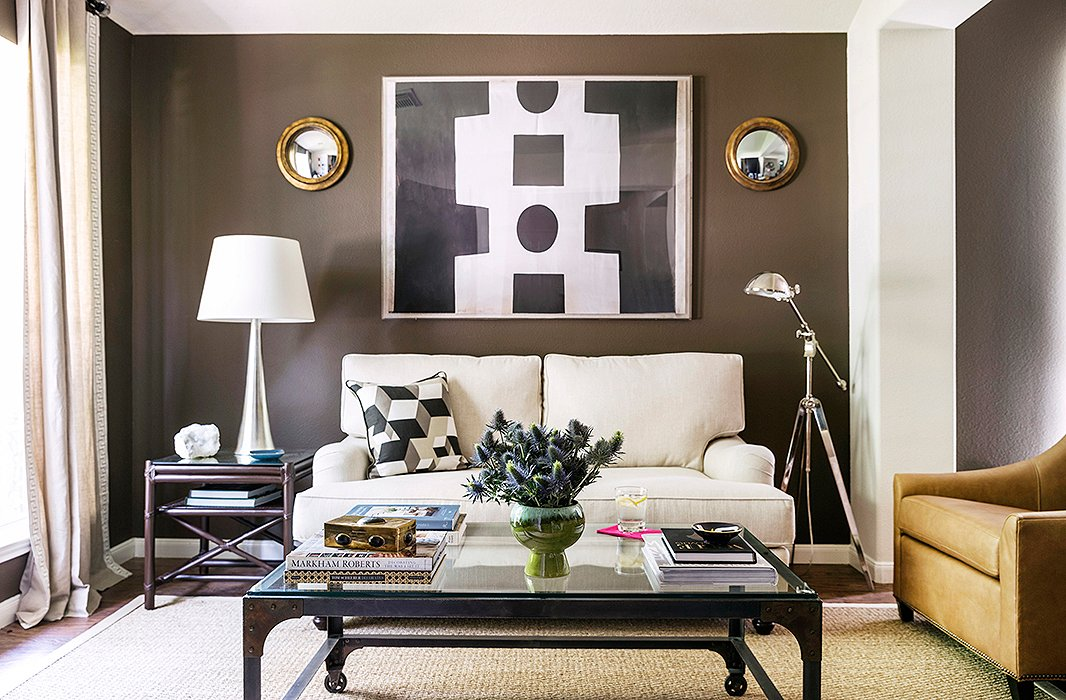 New and vintage, modern and traditional: Interior designer Paloma Contreras mixes all styles in her Texas home.