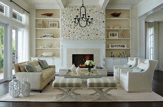 Photo by Brantley Photography; interior by JMA Interior Design & The Best Decorating Ideas for Above the Fireplace