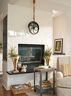 the best decorating ideas for above the fireplace rh onekingslane com picture wall above fireplace family picture above fireplace